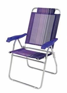 Cadeira Boreal Lilas/Azul