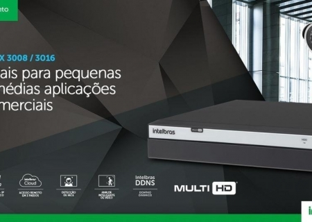 Gravador Digital DVR Intelbras
